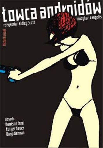 Cartel polaco de Blade Runner. La ciencia-ficción: Matriz de la distopía