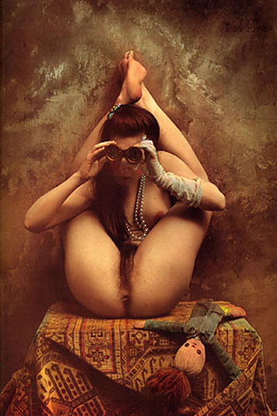 Fotografía coloreada por Jan Saudek