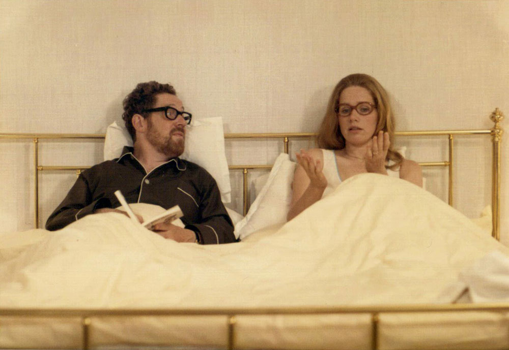 Liv Ullmann y Erland Josephson en Secretos de un matrimonio (Bergman, 1973)