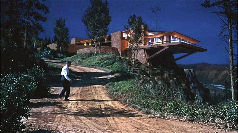 """La casa Vandamme en """"Con la muerte en los talones"""", 1959"""