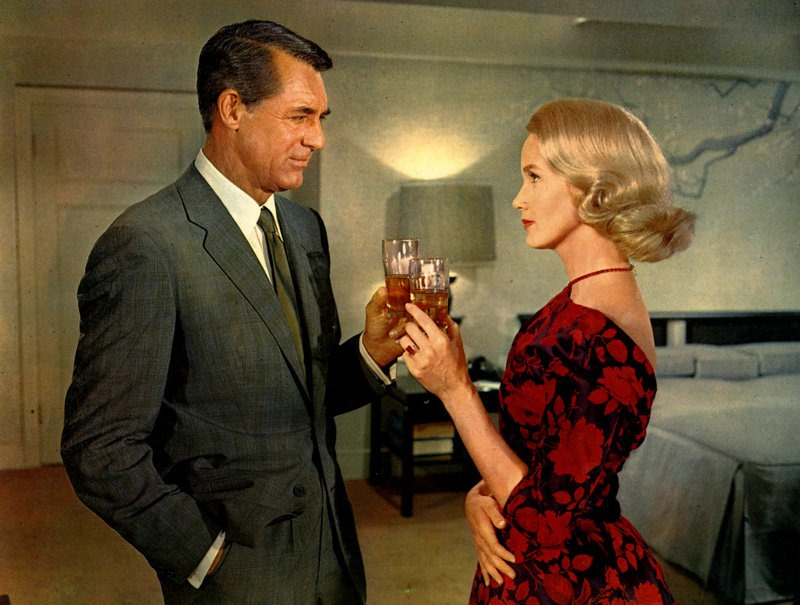"""""""Con la muerte en los talones"""", Alfred Hitchcock 1959"""