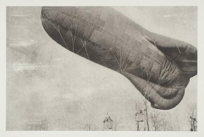 Tacita Dean: Ballon des Aérostiers de Campagne 2001 en la Tate Modern