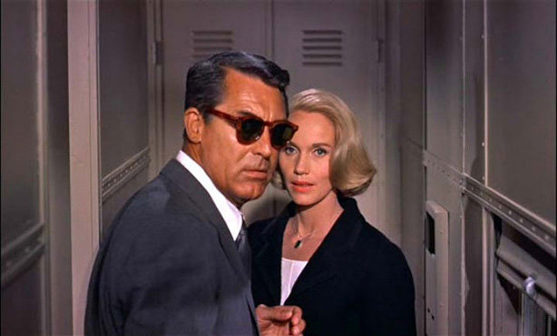 Con la muerte en los talones (Alfred Hitchcock, 1959)