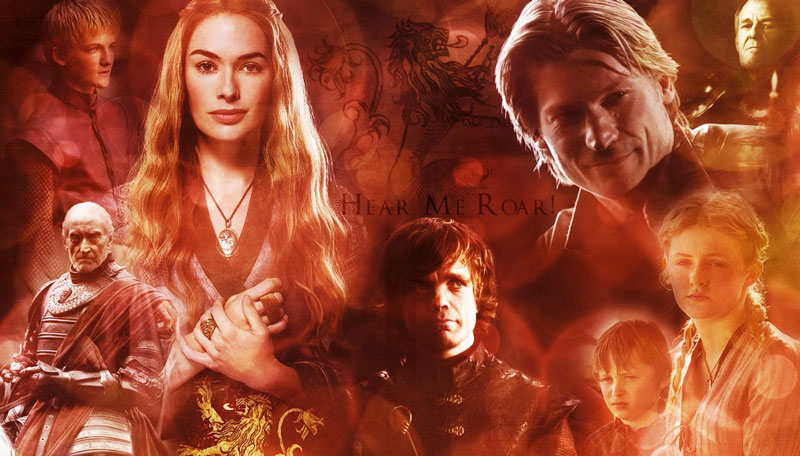 "Lannister. ""Juego de tronos"". Serie de TV"