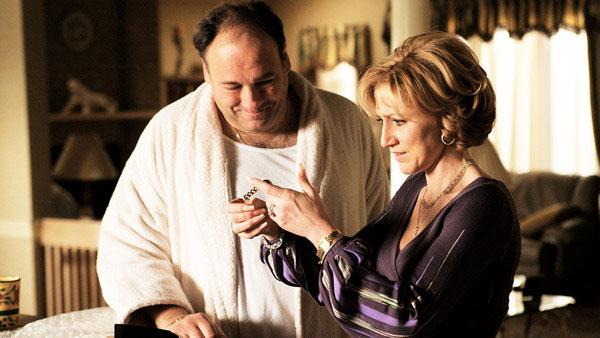 Tony y Carmela Soprano