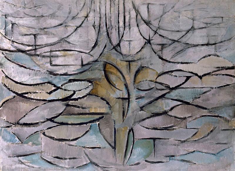 Piet Mondriaan, Manzano en flor, 1912. Gemeentemuseum Den Haag
