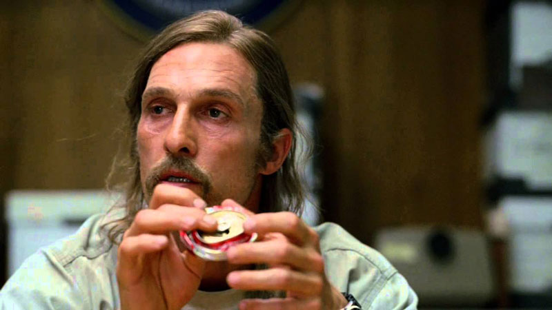 "Matthew McConaughey. ""True Detective"""