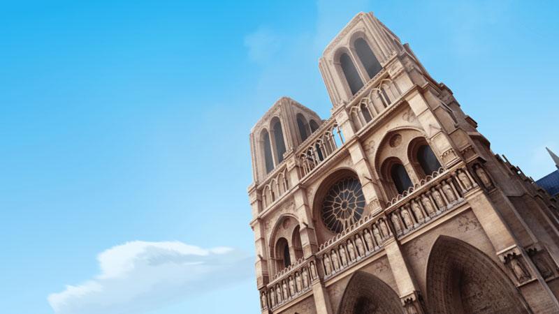 """Notre Dame en la serie de animación: """"Las aventuras de Ladybug"""""""