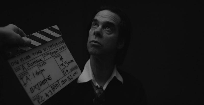 Nick Cave durante el rodaje de One More Time With Feeling de Andrew Dominik