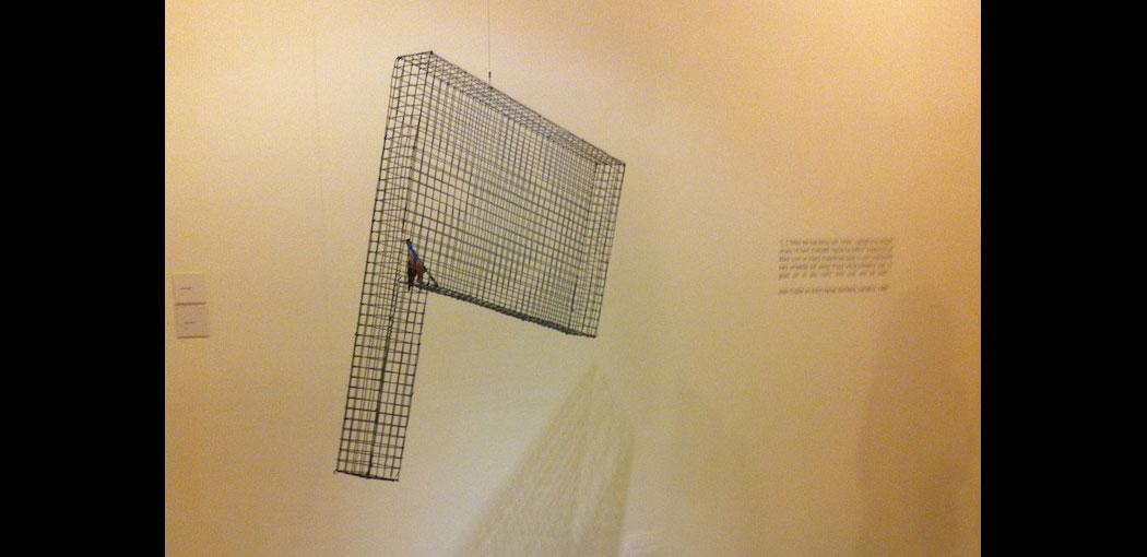 Els paranys, espills i banderes d'Artur Heras al Museu d'Art de Sabadell