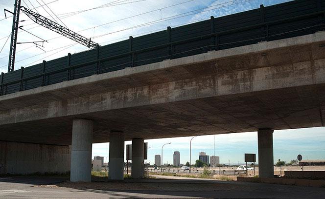 Puente del AVE. Foto Juanjo Hernández