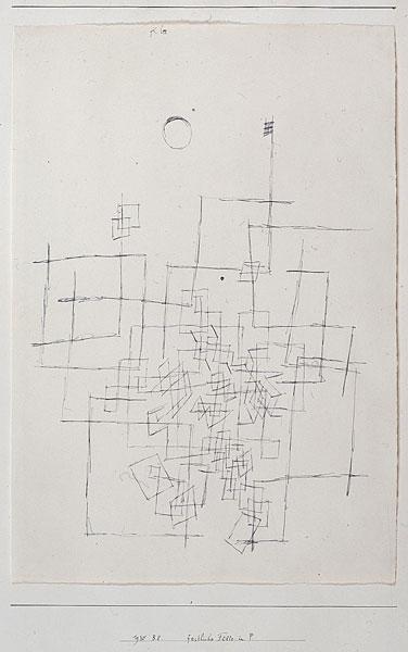 Paul Klee, Abundancia festiva en P., 1930. IVAM