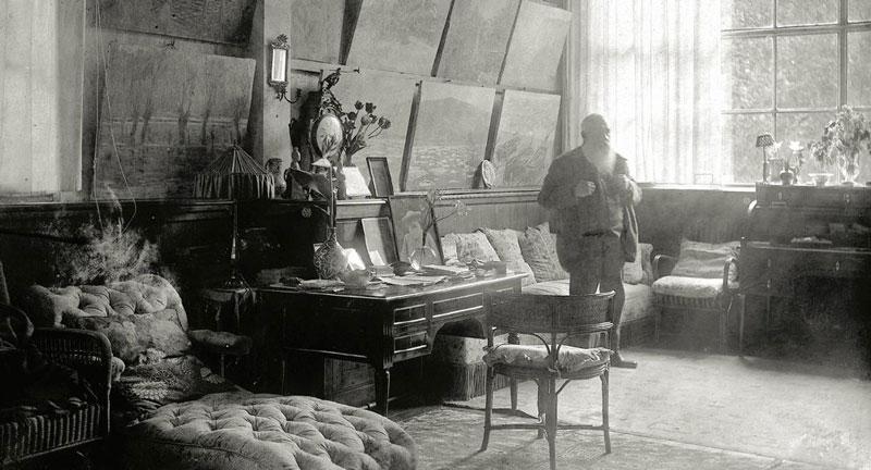 Estudio de Monet en Giverny.