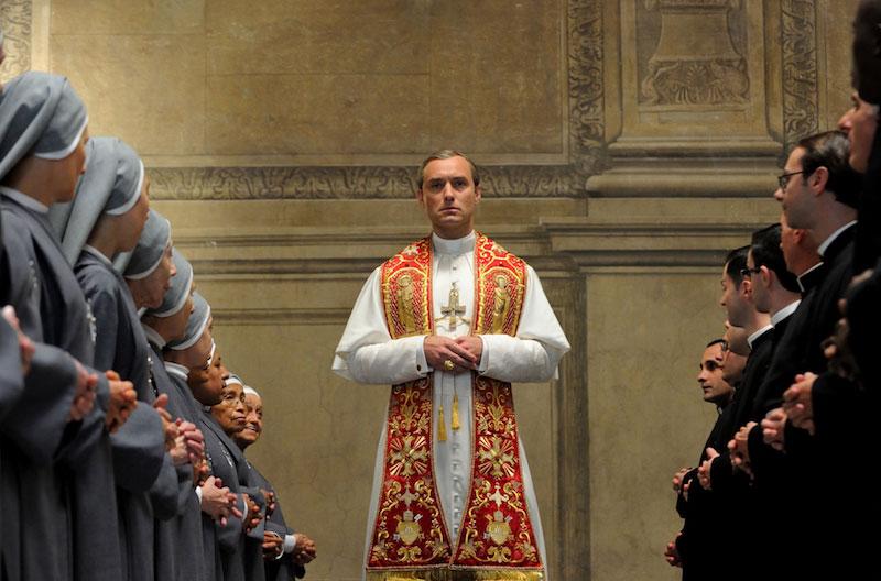 Un momento de The young Pope de Paolo Sorrentino. Photo by Gianni Fiorito