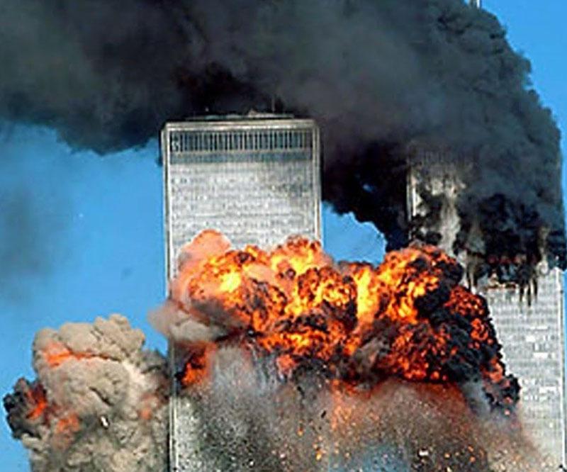 Terror en directo (y en diferido: esta imagen se transmitió decenas de miles de veces)