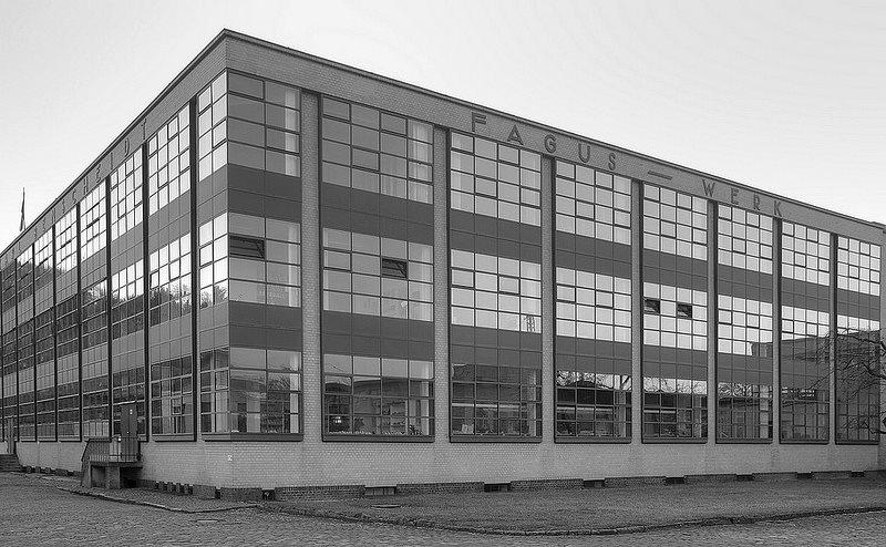 © Fábrica Fagus, Alfeld an der Leine (Alemania). Fotografía archivo.
