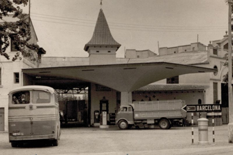 Gasolinera La Torreta, Llano de Zaidia (Valencia).