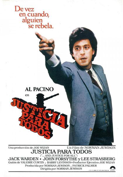 Al Pacino o el abogado intenso