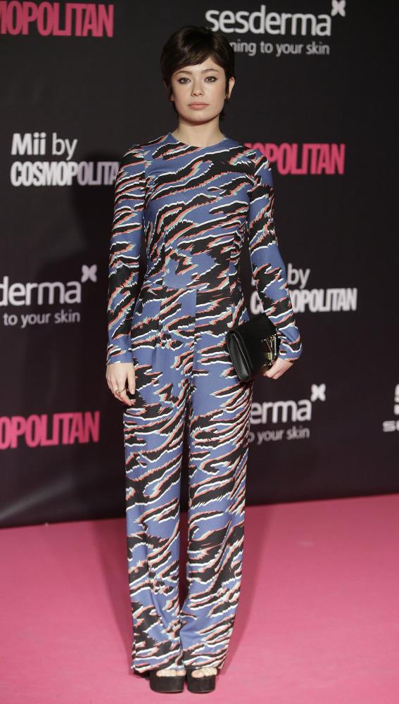 """La actriz Anna Castillo durante los premios """" Cosmopolitan Fun Fearless Female """" 2016. 18/10/2016"""
