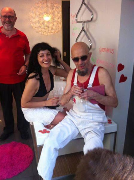 Antonio Beneyto y Roser Amills