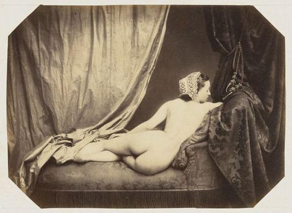 Auguste Belloc, Desnudo, 1858 en MoMA