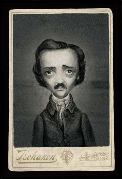 Poe by Benjamin Lacombe