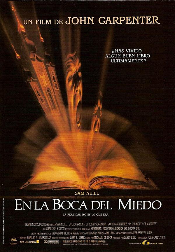 En la boca del miedo, 1995