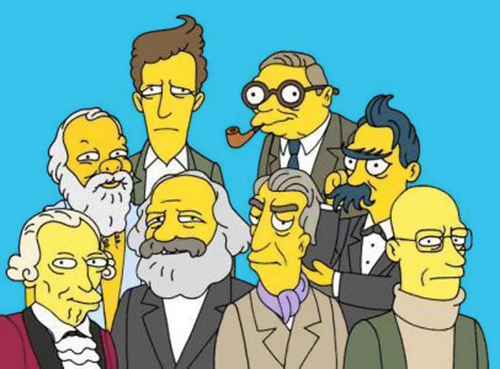 Filósofos: al final, Homero sí que era un señor amarillo.