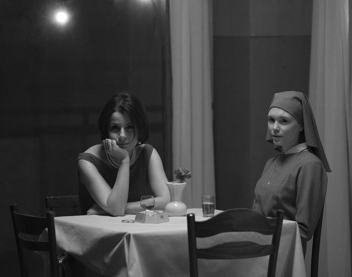 Agata Kulesza, y Trzebuchowska, estupendas ambas en Ida (Pawlikowski, 2013) una de las tres mejores películas del año