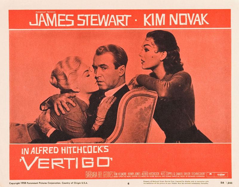 Vértigo (Alfred Hitchcock, 1958)