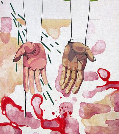 Julia Lara, Las manos