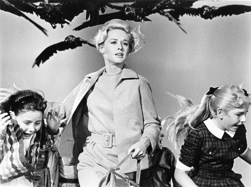 Los pájaros (1963): Fascinación Hitchcock-du Maurier