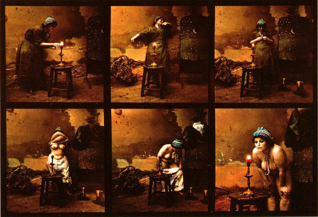 Maid evening, 1980, Jan Saudek