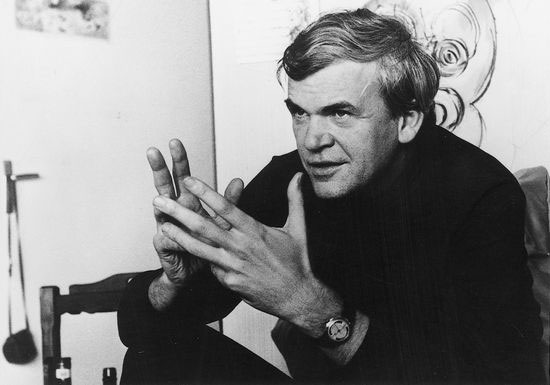 Milan Kundera returns