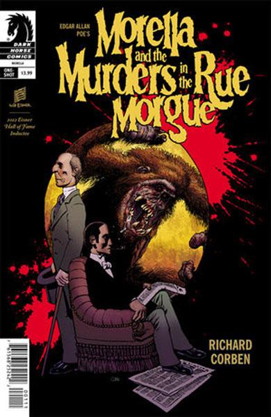 Corben ha adaptado al cómic muchas veces la imagen Poe. La de 2014 está viniendo hacia aquí.