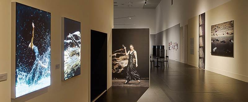 Una imagen de la exposición en Berlín