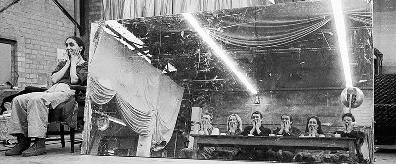 Pina Bausch y compañía en Litchburg, foto Ulli Weis. 1978