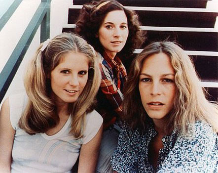 PJ Soles, Nancy Loomis y Jamie Lee Curtis