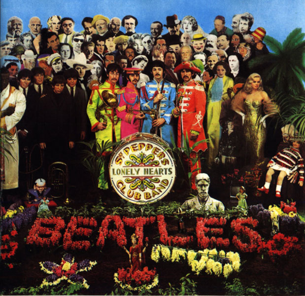 Sgt. Pepper's Lonely Hearts Club Band, The Beatles, 1967: ¿Dónde está Poe?