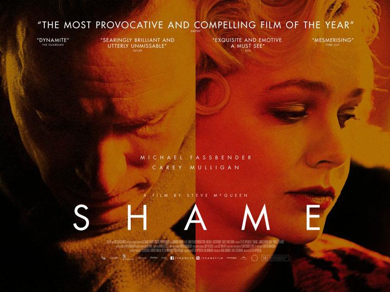 Para Brandon Sullivan (Fassbender) la adicción sexual es un deseo culpable. Shame, MacQueen, 2012