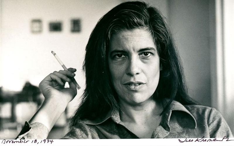 Sobre la fotografía de Susan Sontag es un referente en muchas de las cuestiones estéticas anteriores