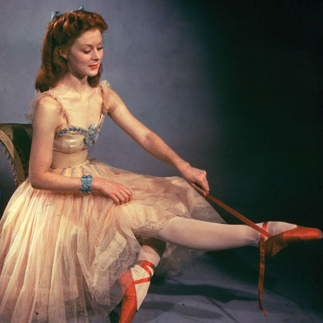 The Red Shoes (Powell, 1948). Tono rojo del mérito y del esfuerzo