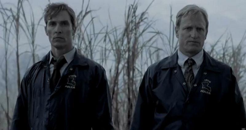 """McConaughey y Harrelson (Rust y Marty) en """"True Detective"""""""