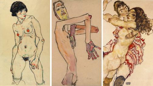 Egon Schiele (1889-1918): expresionismo austriaco