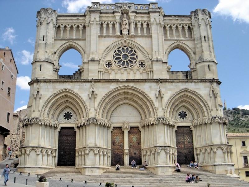 © Fotografía RACAL. Fachada actual de la Catedral de Cuenca.