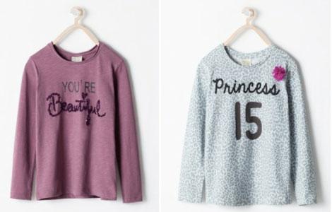 Dos camisetas cuyos diseños no despiertan suspicacias...