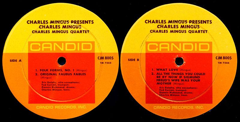 El disco de Mingus de 1961