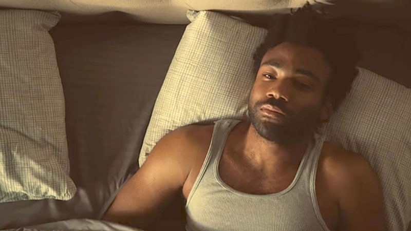 "Donald Glover en ""Atlanta"""