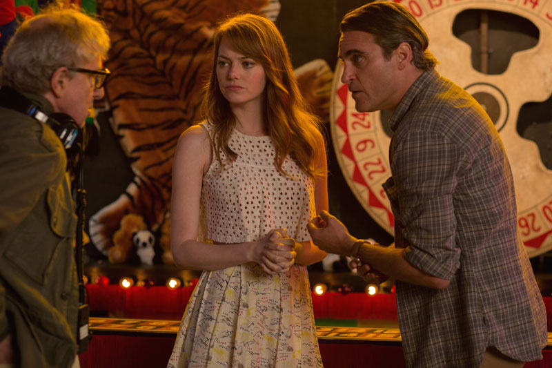 Irrational Man, el presente va en color