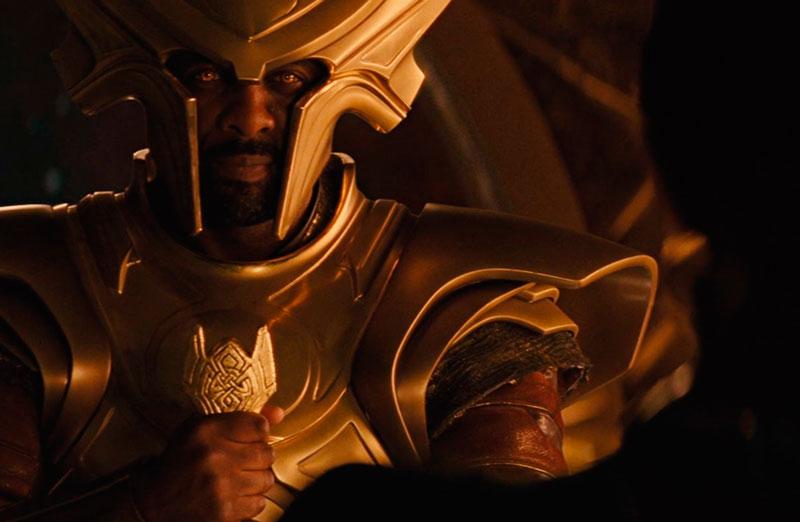 "Idris Elba en ""Thor"""